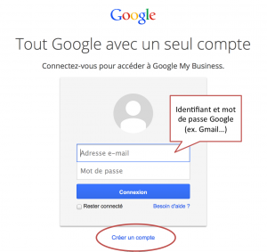 ID password Google