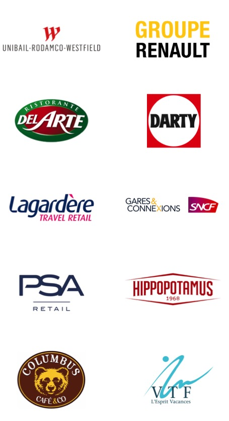 Clients logos Visibilishop